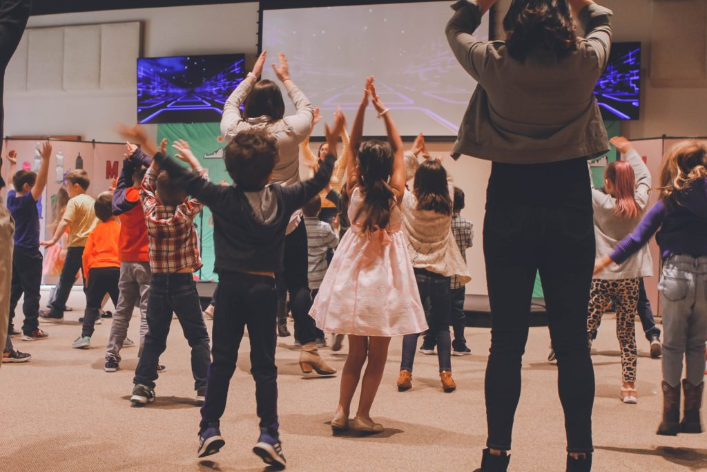 Toddler Bible Lesson and Devotion about how David danced for God