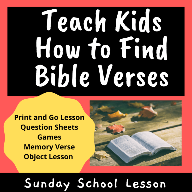 Teach-Kids-How-to-Find-Bible-Verses-Sunday-School-Lesson
