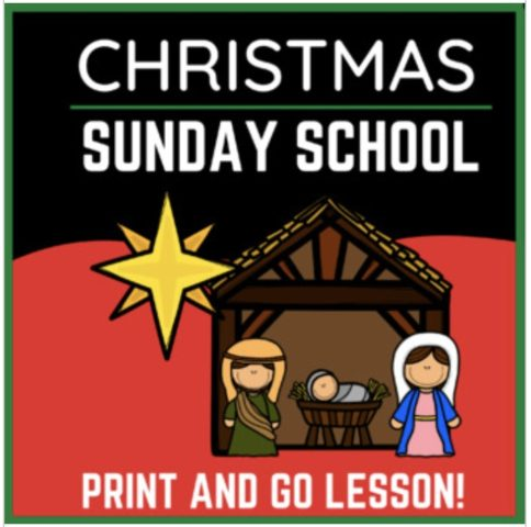 Christmas Sunday School Lesson for Elementary