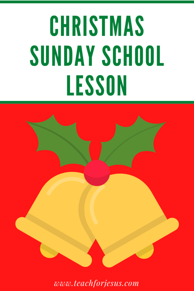 Christmas Sunday School lesson for elementary. Print and go lesson includes Christmas game, lesson, Bible verses, crafts.