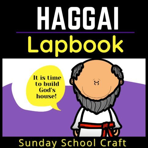 Haggai Lapbook for Sunday School