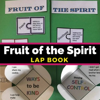 Fruit of the Spirit Lapbook. Fruit of the Spirit Lapbook | Galatians 5:22-23 This Fruit of the Spirit Lapbook provides a fun way to teach kids about the Fruit of the Spirit as they study Galatians 5:22-23.