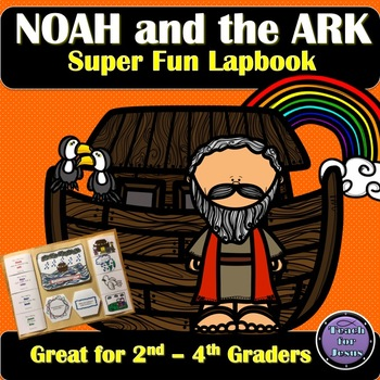 Noah's Ark Lapbook Noah's Ark is a classic Bible story every child needs to know. This fun, easy to assemble lapbook can be used to teach or review the story of Noah's Ark and the great flood. It's great for 2nd-4th graders.