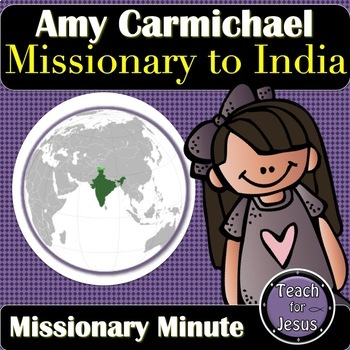 Amy Carmichael Missionary to India